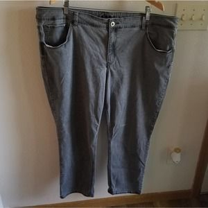 24 Maurices Grey Short Jeggings
